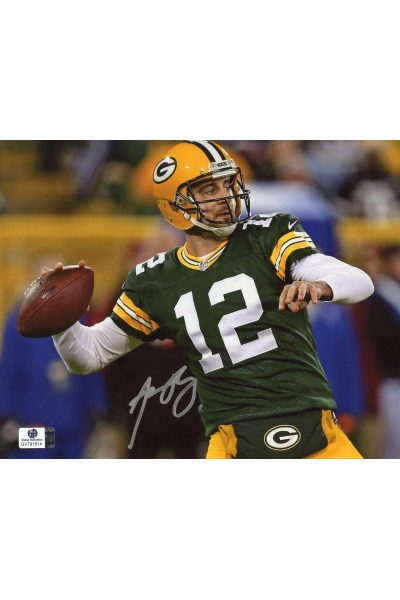 Aaron Rodgers Signed 8x10 Photo Autographed