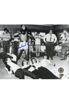 Muhammad Ali Signed 8x10 Photo Autographed The Beatles