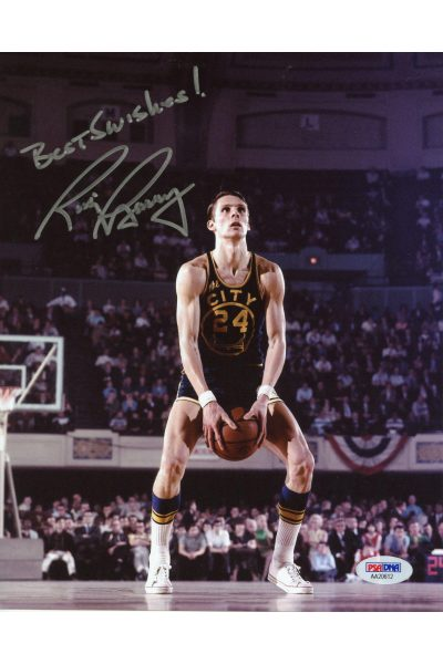 Rick Barry 8x10 Photo Signed Autographed Auto PSA DNA HOF