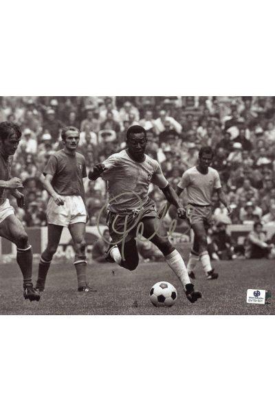 Pele Signed 8x10 Photo Autographed Auto GA GAI COA Soccer Brazil Futbol