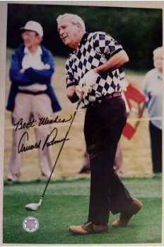 Arnold Palmer Signed 8x12 Photo Autographed Authenticated Best Wishes