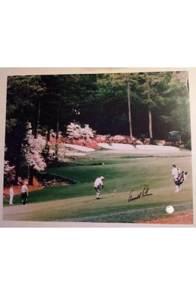 Arnold Palmer Signed 16x20 Photo 2004 Masters Final Round Jack Nicklaus