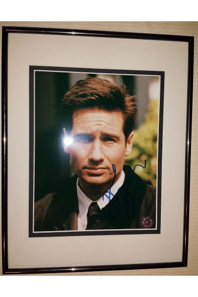 David Duchovny 8x10 Signed Autographed Framed X-files