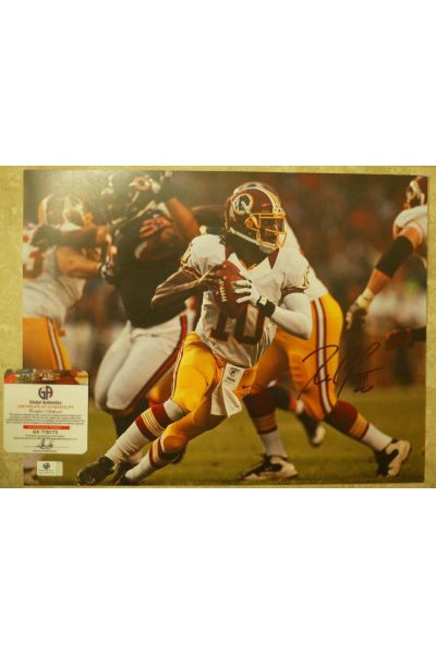 Robert Griffin III RG3 Signed 11x14 Photo Autographed Auto GA GAI COA Redskins