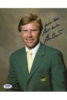 Ben Crenshaw 8x10 Photo Signed Autographed Auto PSA DNA COA Masters Augusta PGA