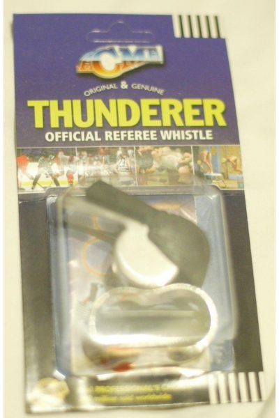 Acme Thunder Officials Referee Finger Whistle Ice Hockey Roller New