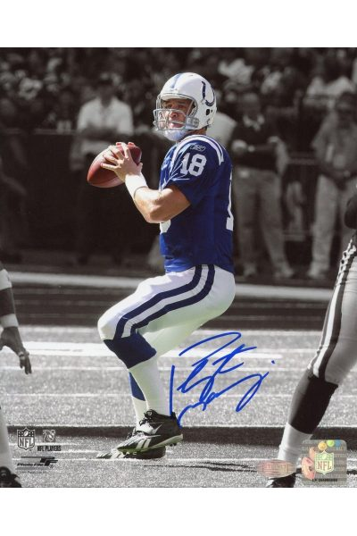 Peyton Manning 8x10 Photo Signed Autographed Auto COA Steiner Sports Colts