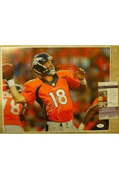 Peyton Manning 11x14 Photo Signed Autographed Auto JSA COA Colts Broncos