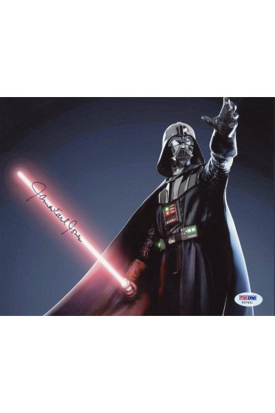 James Earl Jones 8x10 Photo Signed Autographed PSA DNA Star Wars Darth Vader
