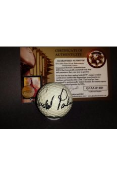 Arnold Palmer Signed Golf Ball Titleist Autographed Arnie