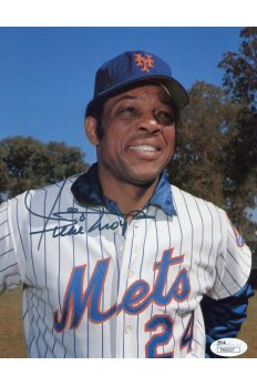 Willie Mays 8x10 Photo Signed Autographed JSA