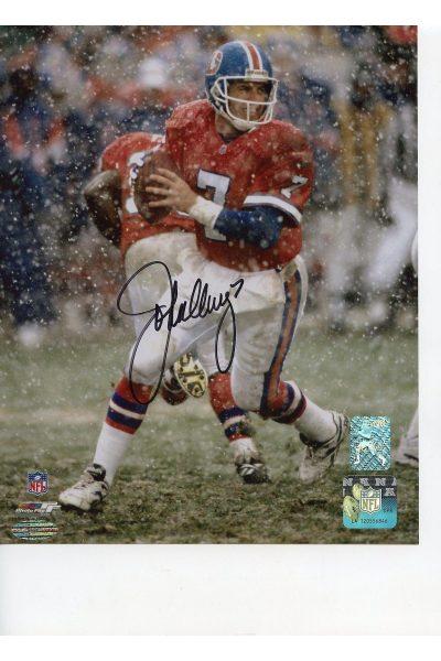 John Elway 8x10 Photo Signed Autographed Auto COA Personal Hologram Broncos HOF