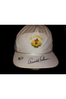 Arnold Palmer Signed St Andrews Hat Autographed