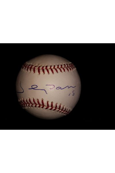 Johnny Damon Signed Offical Baseball Autographed