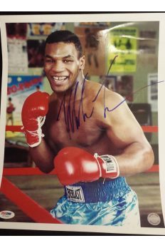 Mike Tyson 11x14 Photo Signed Autographed Auto PSA DNA Iron Mike