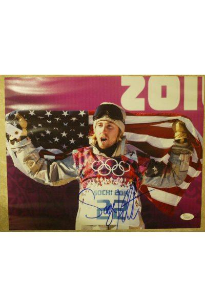 Sage Kotsenburg 11x14 Photo Signed Autographed Auto JSA Olympic Gold Snowboarder