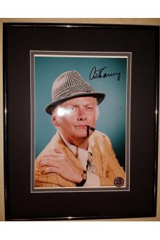 Art Carney 8x10 Signed Autographed Framed Honeymooners