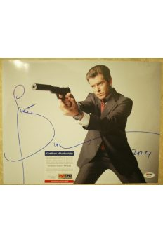 Pierce Brosnan 11x14 Photo Signed Autographed Auto PSA DNA James Bond 007