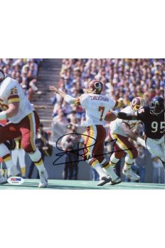Joe Thiesmann 8x10 Photo Signed Autographed Auto PSA DNA COA Redskins HOF