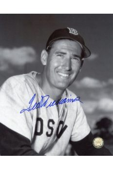 Ted Williams Signed 8x10 Photo Autographed Portrait