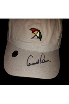Arnold Palmer Signed Logo Hat Autographed