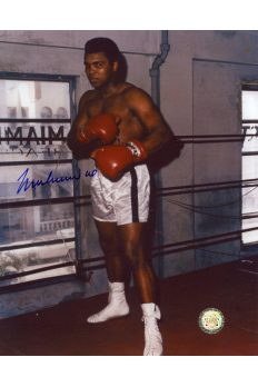 Muhammad Ali Signed 8x10 Photo Autographed Miami 4th Street Gym