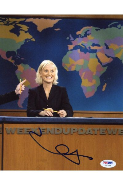 Amy Poehler 8x10 Photo Signed Autographed Auto PSA DNA SNL Parks and Recreation