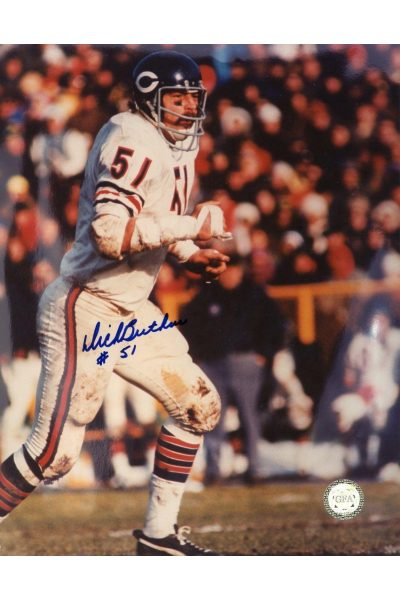 Dick Butkus Signed 8x10 Photo Autographed