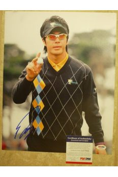 Ryo Ishikawa 11x14 Photo Signed Autographed Auto PSA DNA Japan rare