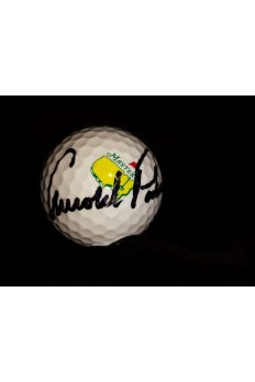 Arnold Palmer Signed Golf Ball Masters Autographed