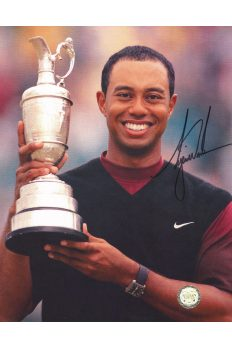 Tiger Woods Signed 8x10 Photo Autographed St Andrews