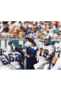 Dan Marino Signed 8x10 Photo Mounted Memories Autographed Auto COA Passing Hoz