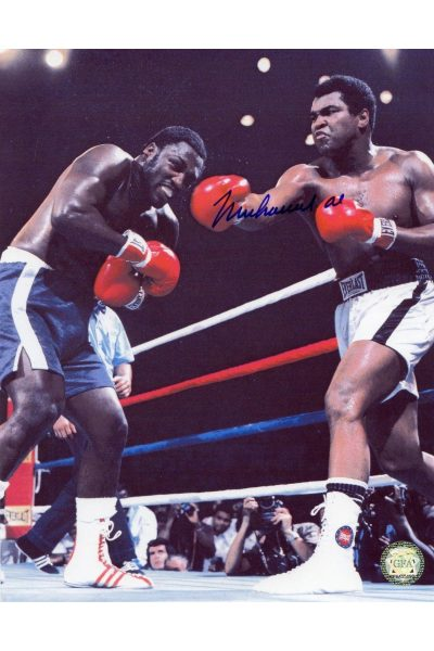 Muhammad Ali Signed 8x10 Photo Autographed