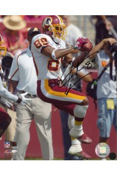 Santana Moss 8x10 Photo Signed Autographed Auto Authenticated COA Redskins