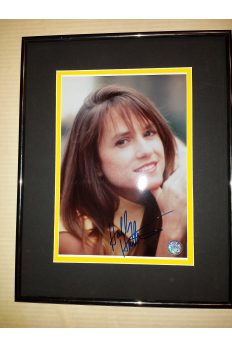 Holly Hunter 8x10 Signed Autographed Framed Cute