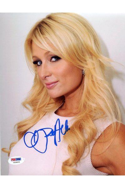 Paris Hilton 8x10 Photo Signed Autographed Auto PSA DNA COA Sexy Hot!