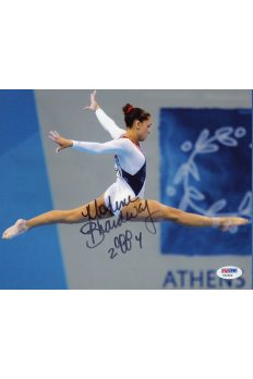 Mohini Bhardwaj 8x10 Photo Signed Autographed Auto PSA DNA Olympis Gymnast Gold
