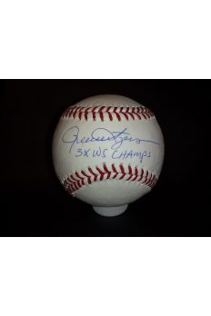 Rollie FingersSigned Offical Baseball Autographed Auto Steiner 3xWS Champs