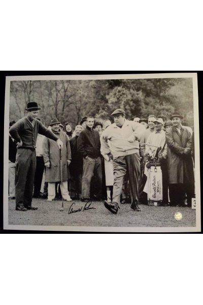 Arnold Palmer Signed 16x20 Photo Jackie Gleason 1961 Shawnee Valley Country Club