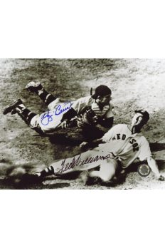 Ted Williams Yogi Berra Signed 8x10 Photo Autographed