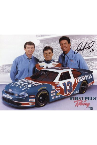 Dan Marino 8x10 Photo Signed Autographed Auto Mounted Memories COA NASCAR