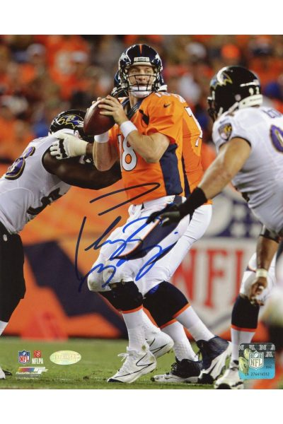 Peyton Manning 8x10 Photo Signed Autographed Auto COA Steiner Sports Broncos