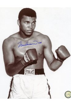 Muhammad Ali Signed 8x10 Photo Autographed Po B&W