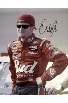 Dale Earnhardt Jr Signed 11x14 Car Photo Autographed 2004 Signing