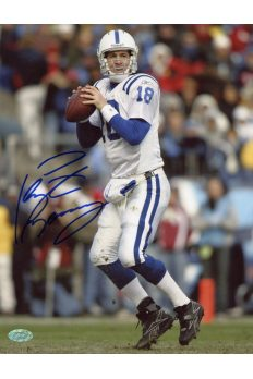 Peyton Manning 8x10 Photo Signed Autographed Auto COA Mounted Memories Colts