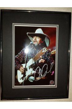 Charlie Daniels Band 8x10 Signed Autographed Framed