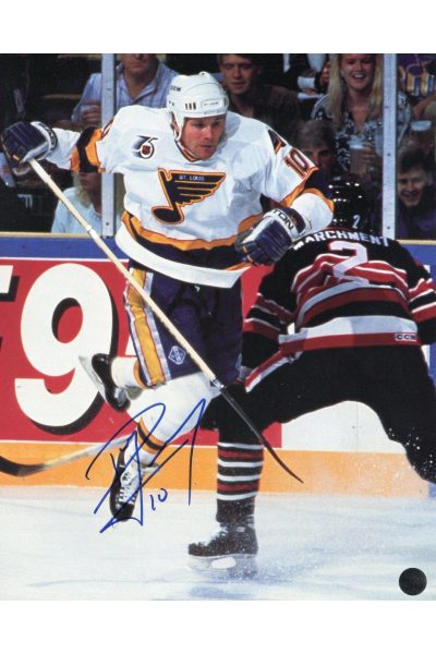 Valeri Bure 8x10 Photo Signed Autographed Auto Authenticated COA Blues