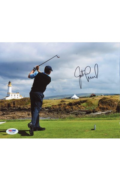 Justin Leonard 8x10 Photo Signed Autographed Auto PSA DNA COA PGA Golf