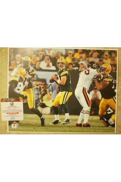 Aaron Rodgers Signed 11x14 Photo Autographed