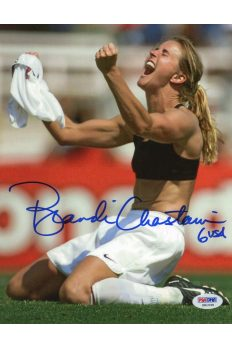 Brandi Chastain 8x10 Photo Signed Autographed Auto PSA DNA COA World Cup Soccer
